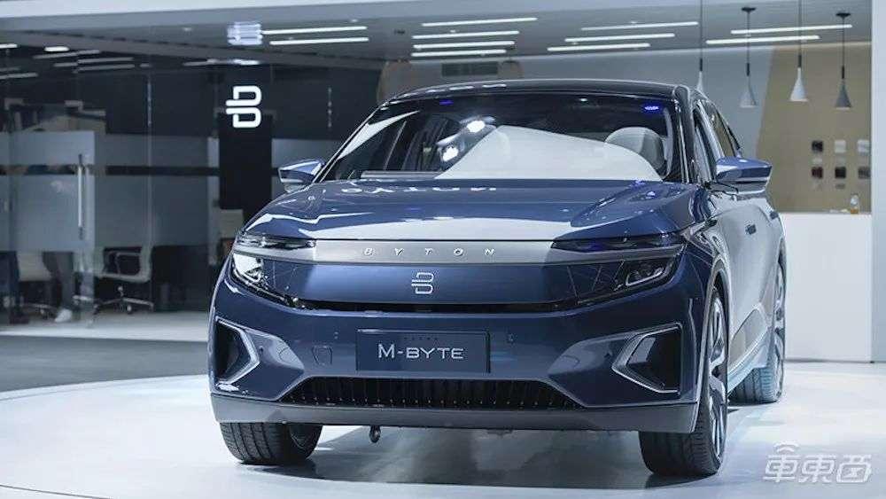 富士康造车新进展,携手拜腾,明年量产纯电SUV
