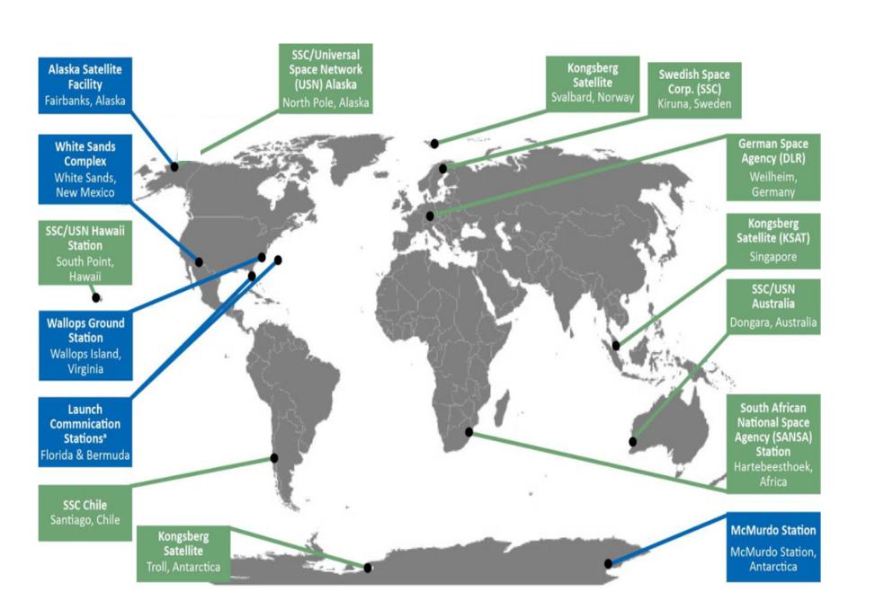 过去四年NASA三大地面跟踪网络的运营预算达3.5亿美金
