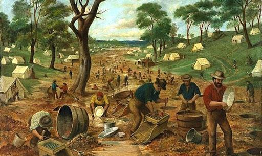 美国淘金热和170年后的直播电商,都有一批「卖铲人」