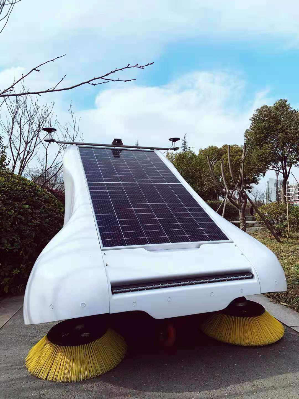 量产的双目超广角视觉无人驾驶方案,无人环卫车「扫地僧」宣布出货超300台