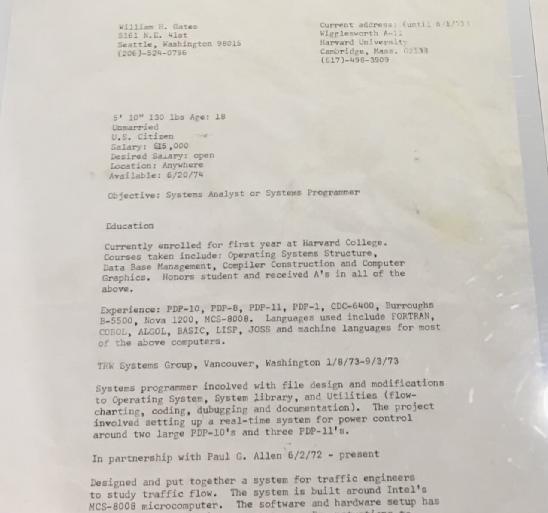 乔布斯 1973 年求职申请表曝光,拍出 222400 美元高价