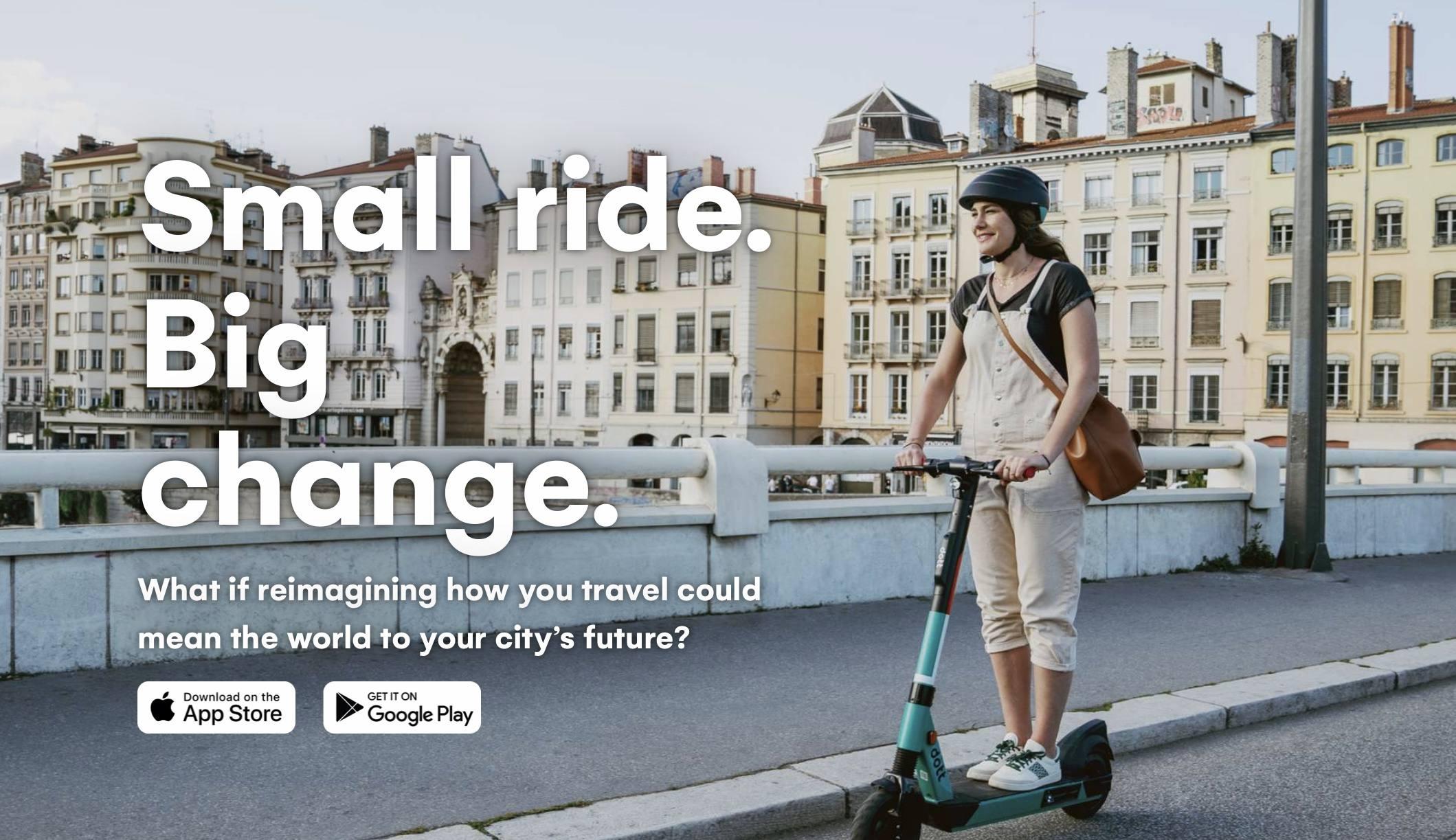共享电动滑板车席卷欧洲,初创公司Dott获得8500万B轮融资