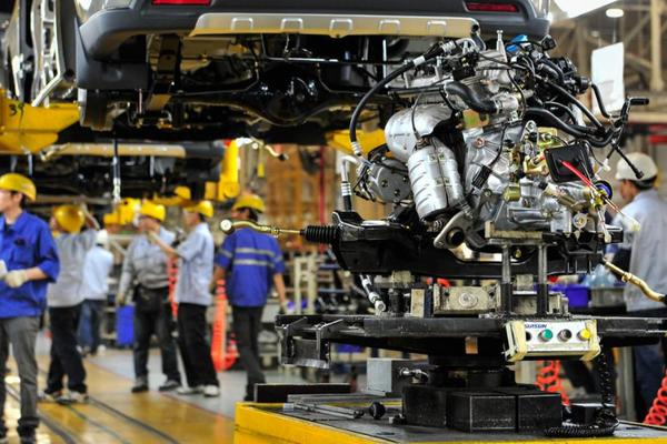 制造业是压舱石, 两江新区直管区规上工业总产值一季度同比增77%