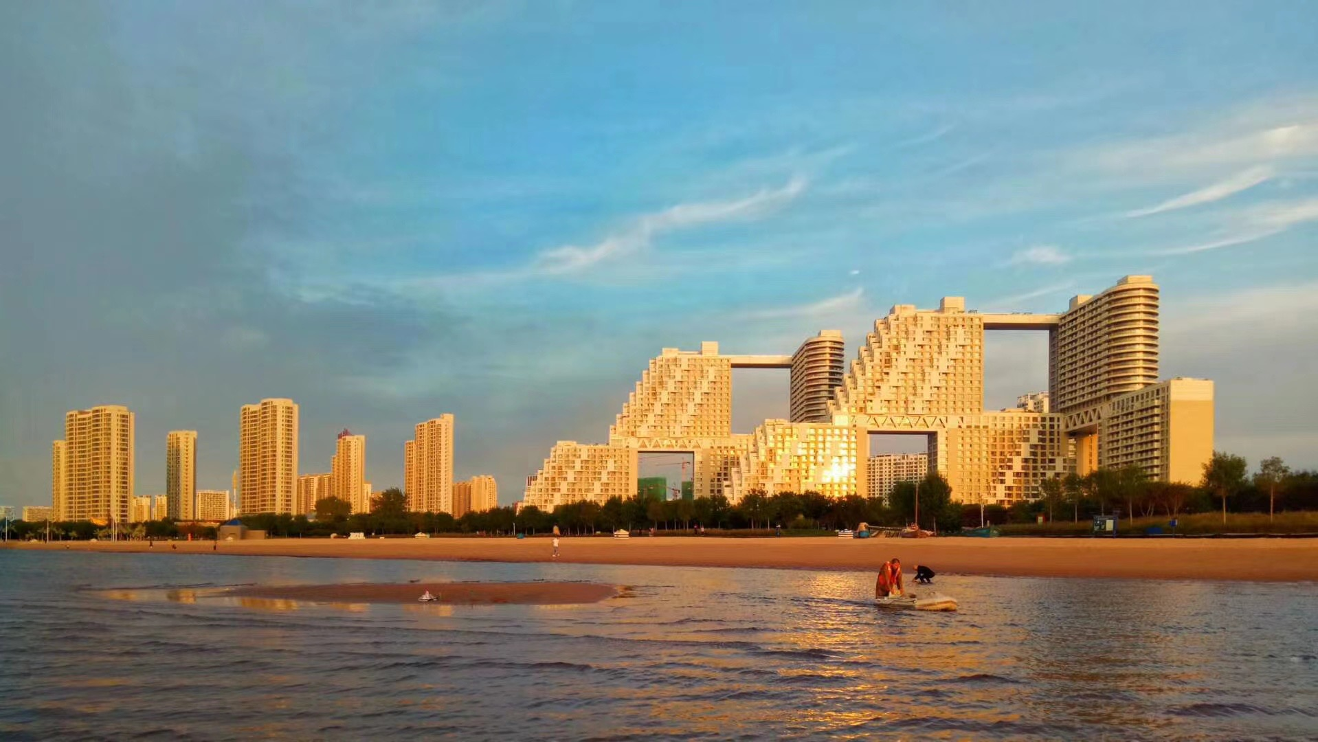 建造国贸的嘉里,又在秦皇岛造了一座地标