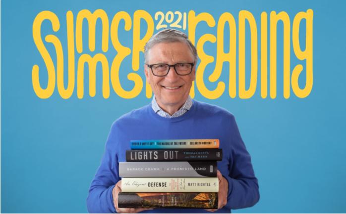 比尔·盖茨 2021 夏季书单:让人深受启发的 5 本好书