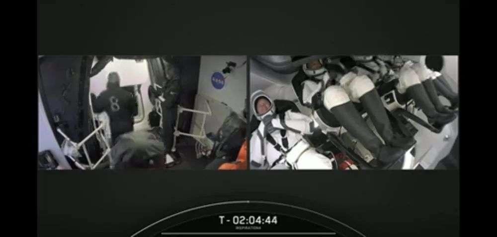 人类首个全平民太空旅行,马斯克送4位乘客去太空玩3天