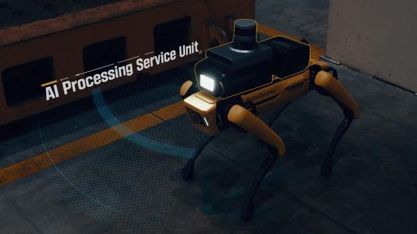 波士顿动力Spot进厂打工了,现代汽车安排它去守夜,变身工厂安全员